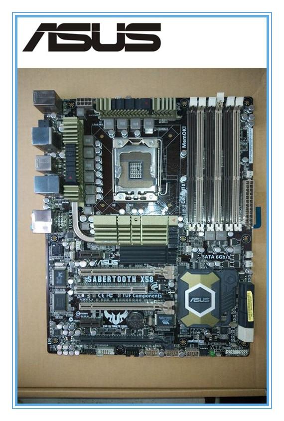 ASUS SaberTooth X58 d'origine carte mère LGA 1366 DDR3 pour Core i7 Extreme/Core i7 24 GB De Bureau carte mère Livraison gratuite
