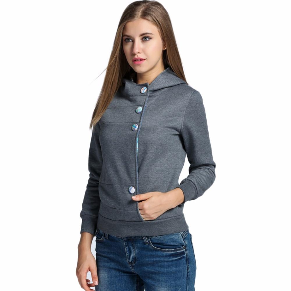 Autumn Spring Long Sleeve Women Hoody Suit Sweatshirt Tracksuit Female Hood Sportswear Lady Polerone Clothing Sweat Femme 2016