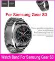 Hoco três pionters link pulseira cinta para samsung galaxy gear S3 Relógio Feito Por 316L de Aço Inoxidável E Com uma Bela pacote