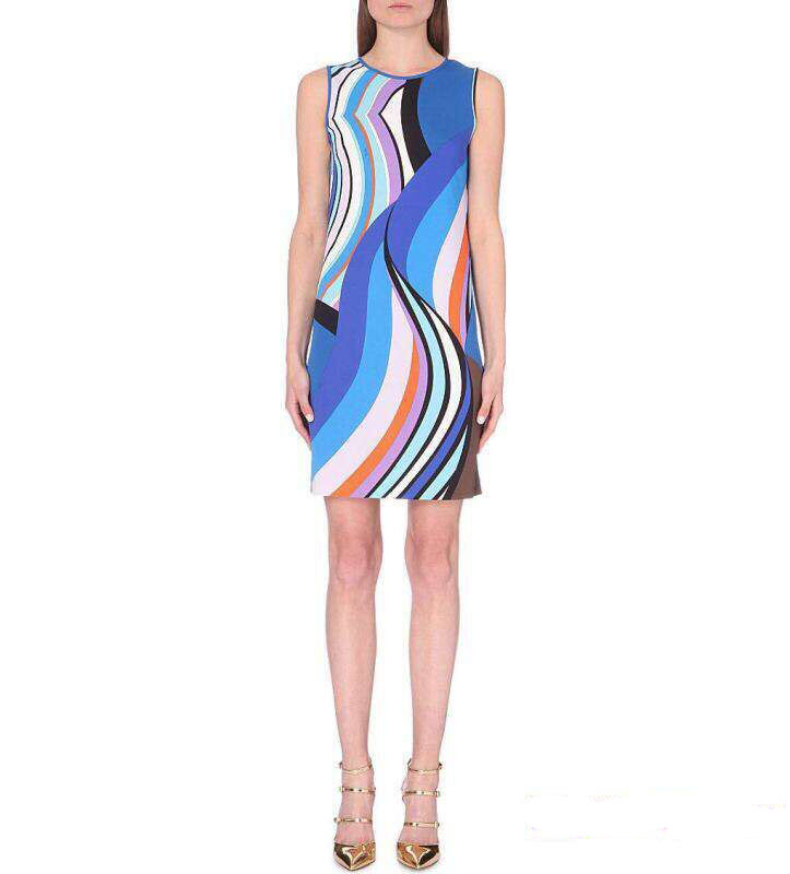 Dresses Limited Special Offer Freeshipping Silk jersey Print Vestido 2017 Contextual Autumn Fancy Knitted Sleeve Dress