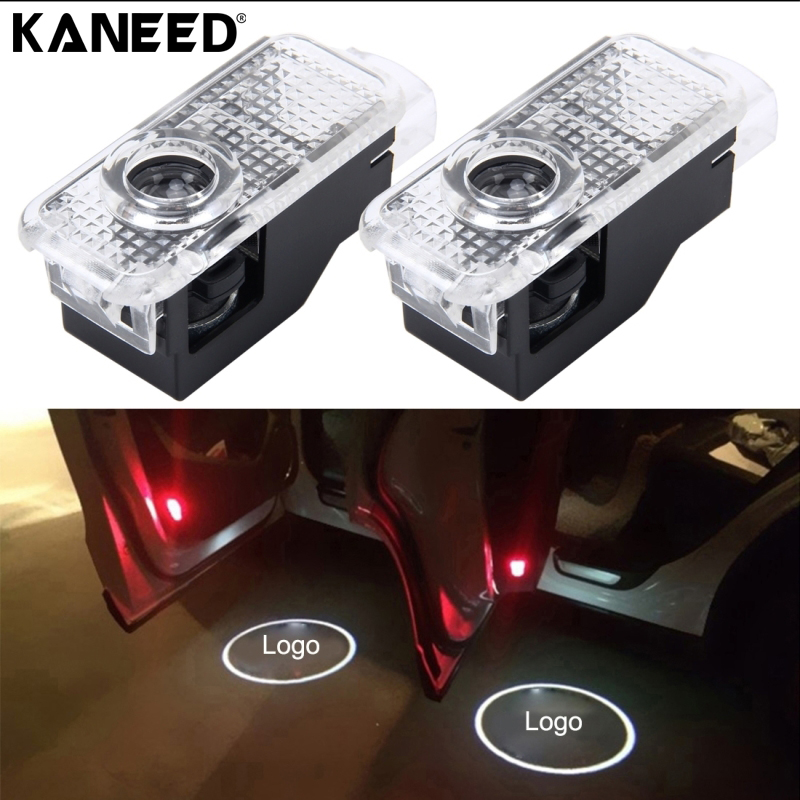 Car Door Light Logo 3D Shadow Car-styling LED Welcome Lights Laser Projector Car Door Light For Audi A8 A6L A4L Auto Door Lamp 12v wireless led car door welcome laser projector 3d logo emblem light ghost shadow light for audi a8 a6l a6 a4l a4 r8 tt q5