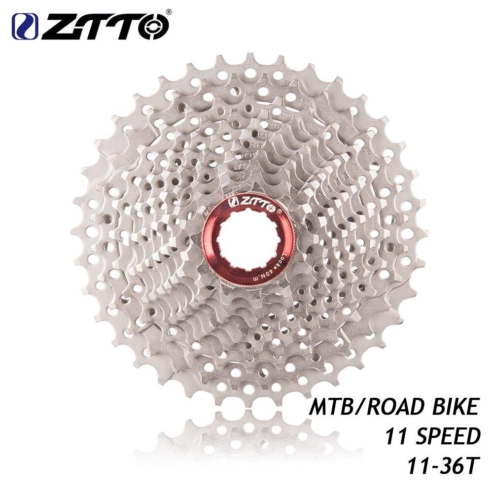 ZTTO 11 vitesses 11-36 T roue libre 11 s pignon Cassette pour UT DA K7 GX RIVAL1 Force1 1X système CX vélo de route vtt vélo