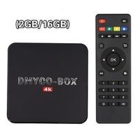 H96 Plus Android TV Box Amlogic S905 2G RAM 16G ROM 4 Karat 60fps H265 HDMI 2,0 Bluetooth 4,0 Gigabit LAN Dual Band WIFI 3D Smart TV