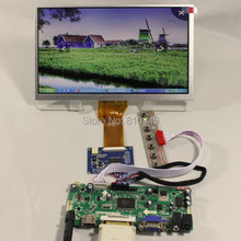 HDMI DVI VGA Audio LCD controller board Tcon board 9inch AT090TN12 800 480 Lcd