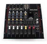 SMX4 4 Road Bring Power Amplifier Tuning Platform Reverberation USB Microphone Tuning Platform Major Sing KTV Effects Processors