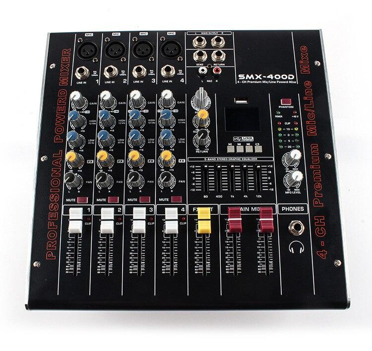 Unterhaltungselektronik Smx4 4 Straße Bringen Leistungsverstärker Tuning Plattform Nachhall Usb Mikrofon Tuning Plattform Großen Singen Ktv Effektprozessoren HöChste Bequemlichkeit Tragbares Audio & Video
