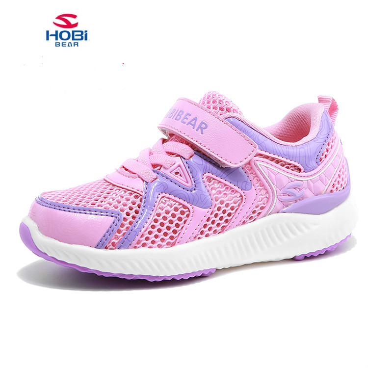 2018 Sport Children Shoes Kids girls Sneakers Spring Autumn Net Mesh Breathable Casual Girls Shoes Running Solid Shoes For Kids aadct spring new travel children shoes low cut casual boys running shoes real leather kids shoes for little girls brand