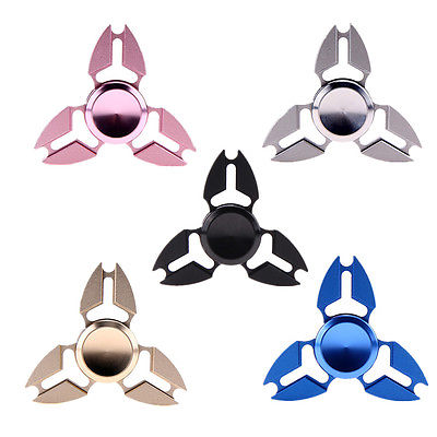 New UFO Hand spinner Tri Spinner Fidget Finger Spinner For Autism ADHD Toys Long Time Rotation