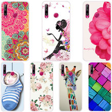 Cartoon Animal Flower Phone Case For Huawei Honor 10i HRY-LX1T Soft Silicone Full Back Cover For Huawei Honor 10i Cases Fundas(China)