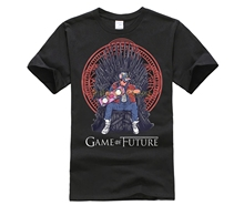Game Of Thrones Future T Shirt Back To The Iron Throne Stark Jon Snow GOT