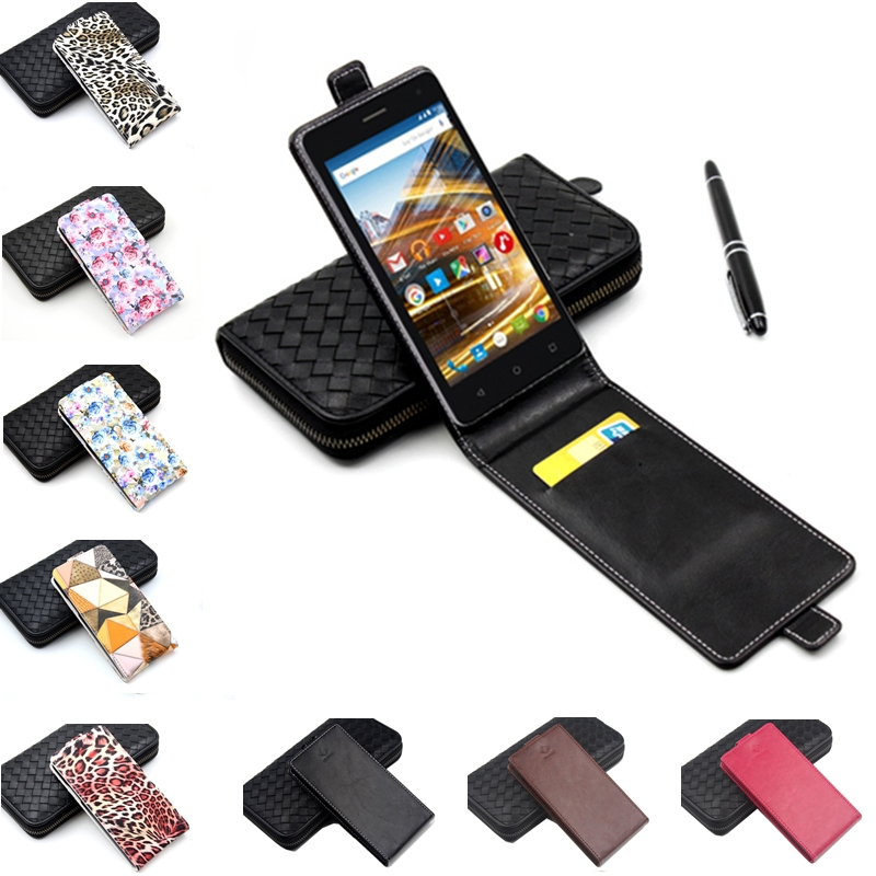 a9090c6856 Classic Luxury Advanced Top Flip Colorful Leather Case For Archos 50d Neon  Phone Cases Cellphone Cover With Card Slot