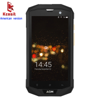 Original AGM A8 American Version IP68 Rugged Tough Waterproof Phone Android 7 0 3GB RAM Qualcomm
