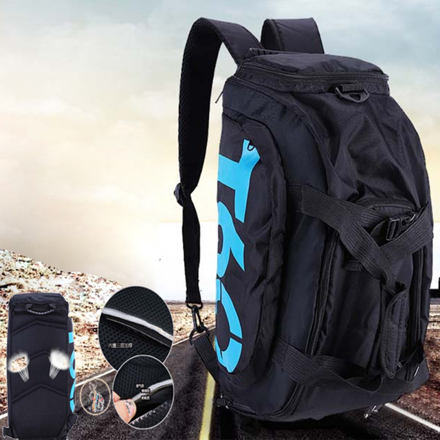 13abf449ce67 2018 New Brand Women Gym Bags T60 Waterproof Outdoor Men luggage travel Bag   Backpack