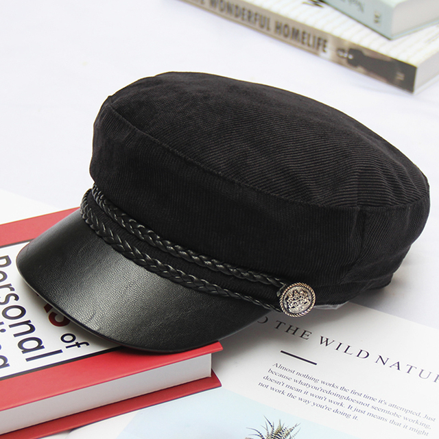 Army Military Hat Navy Cap...