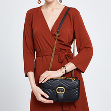 ZOOLER Exclusive woman leather bag diamond ornament women messenger fashion shoulder purse bolsa feminina#FL200