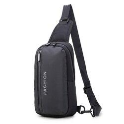 Подарок к празднику нагрудная сумка в стиле casual сумка через плечо водонепроницаемые Высокое неполная средняя школа студент многофункциона...
