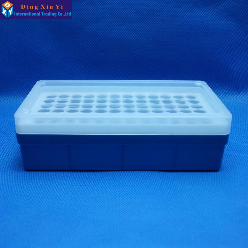Free shipping 1.5ML/2ML  72vents laboratory Plastic box for Centrifuge Tubes with cover 100pcs 2ml polypropylene pp centrifuge tubes