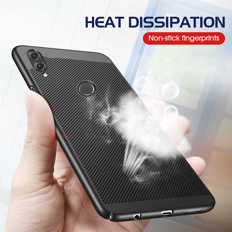 Phone Case for Huawei P20 P10 Lite P30 P10 P Smart Plus Heat Dissipation PC Back Cover For Huawei P8 P9 Lite 2017 Y9 2018 Capa