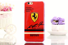 iPhone Cases with Labels of Famous Cars