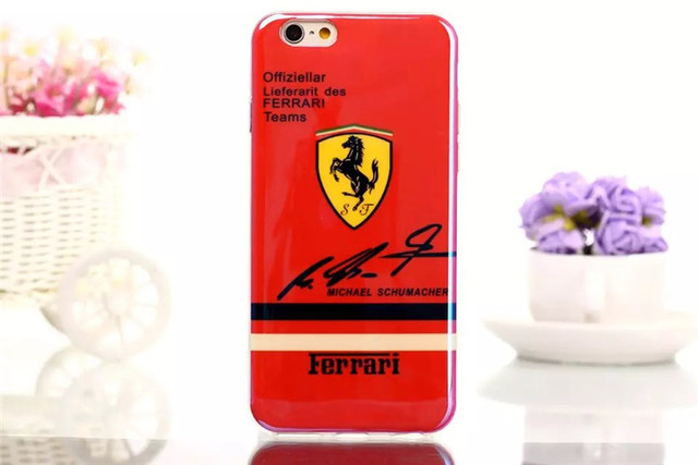 Excellent Ferrari Design iPhone Case