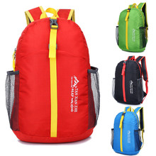 Waterproof Nylon Lightweight Foldable Backpack Outdoor Camping Hiking School Travel Backpacks Sports Bags For Men and Women