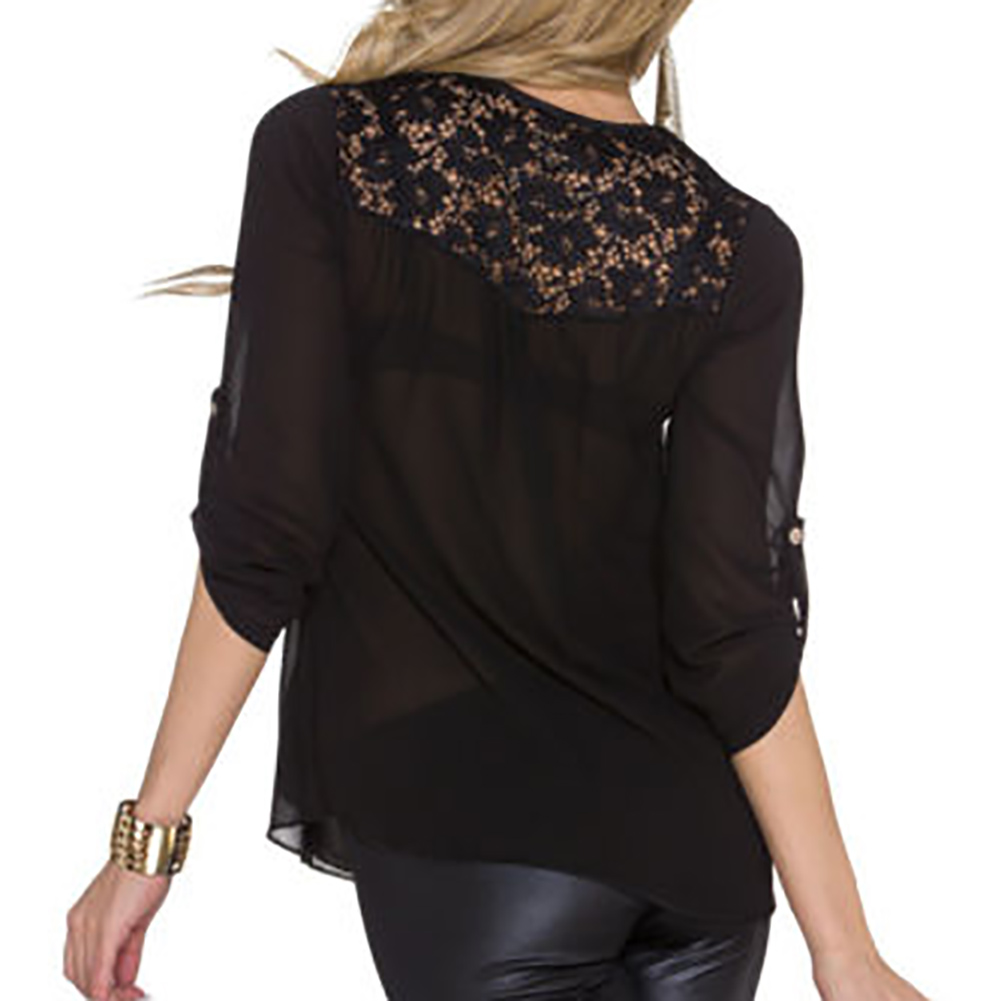 Accessories Latest Trendy V Neck Modern Blouse Women Sexy High Quality Best Individual New Usable Hot Newest Design