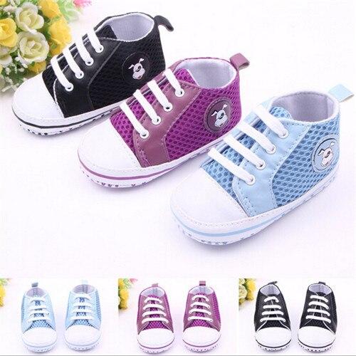 f73b1d13f 2015 moda bebé malla Zapatos Primeros pasos recién nacido suave deporte  Zapatos sapatos bebés Niños Niñas sneakers