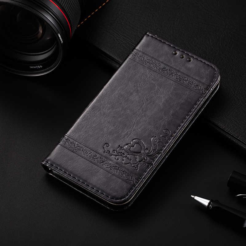 AMMYKI Горячая тонкая саржа цветочный логотип высокого качества Флип кожаный чехол для мобильного телефона 5,5 'для lenovo vibe p2 чехол