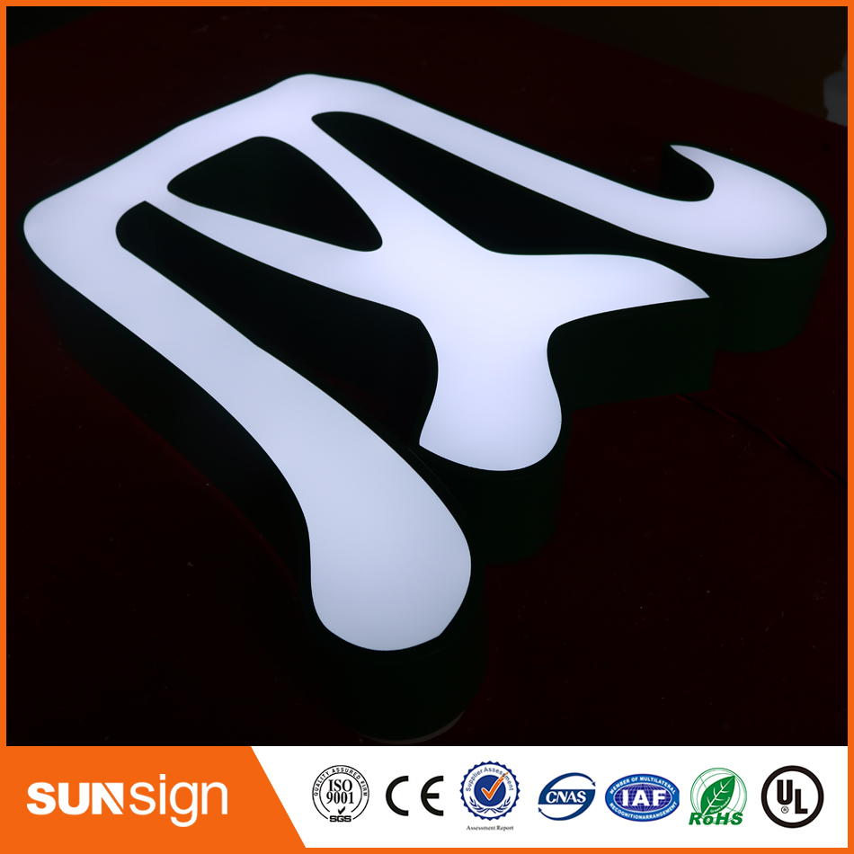 Store Front Lit Led Channel Letter Sign