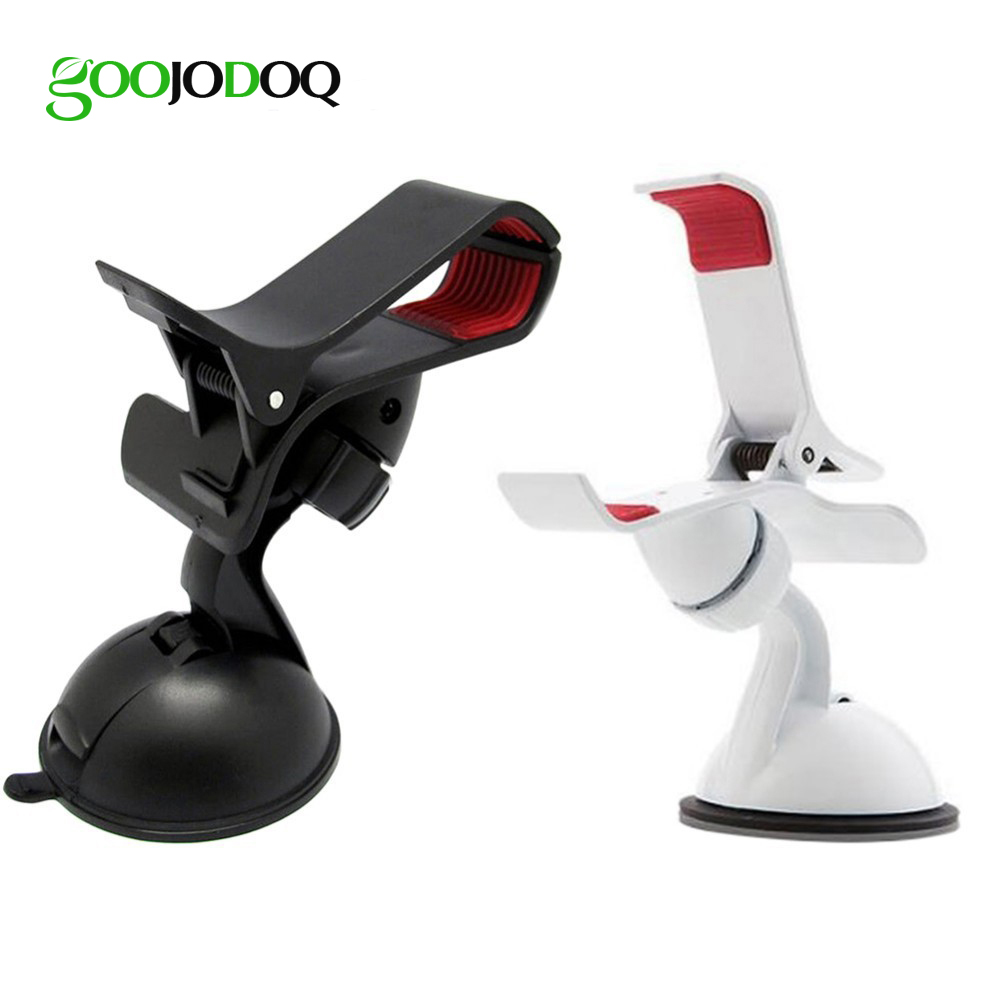 360 Degree <font><b>Rotation</b></font> <font><b>Suction</b></font> <font><b>Cup</b></font> <font><b>Universal</b></font> <font><b>Car</b></font> <font><b>Holder</b></font> <font><b>Mount</b></font> <font><b>Car</b></font> Windshield Mobile Phone Stand for iPhone 6s 7 8 Samsung Huawei