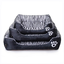 Waterproof Pet Dog Bed Warmer Soft Comfortable Pet Dog House Nest Flannel Mat Cat Cozy Puppy Removable Washable Kennel JCW109