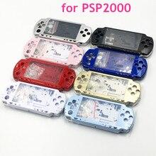 E house cubierta de caja de cubierta para consola de juegos PSP 2000 PSP2000, Kit de botones de repuesto