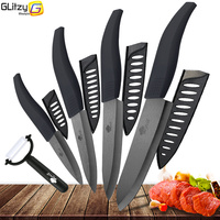 Ceramic Kitchen Knife Chef Utility Slicer Paring Ceramic Knives Peeler Set 3 4 5 6 Inch