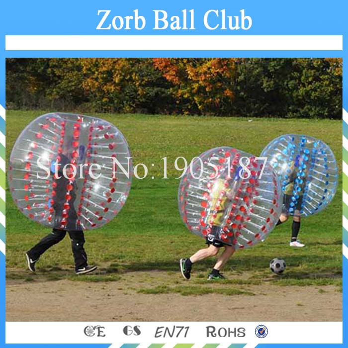 Free Shipping TPU Bubble Football 1.2m Red or Blue, Loopy Ball, Body Zorb Bumper Ball For Kids free shipping 1 2m for kids bubble soccer inflatable bumper ball bubble football bubble ball soccer zorb ball loopy ball