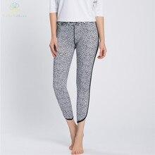 Hello Anthena Women s High Waist Tummy Control Shapewear Power Flex Capri Pants Spot Pattern Hidden