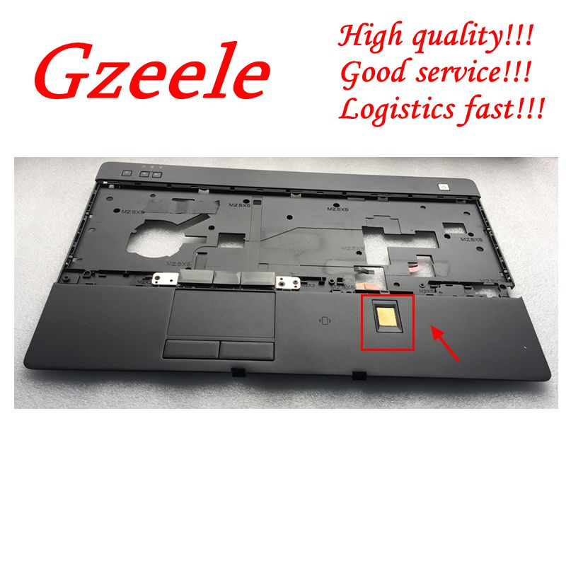 GZEELE NEW Palmrest upper case cover For Dell For Latitude E6520 C Shell HYCCX keyboard bezel