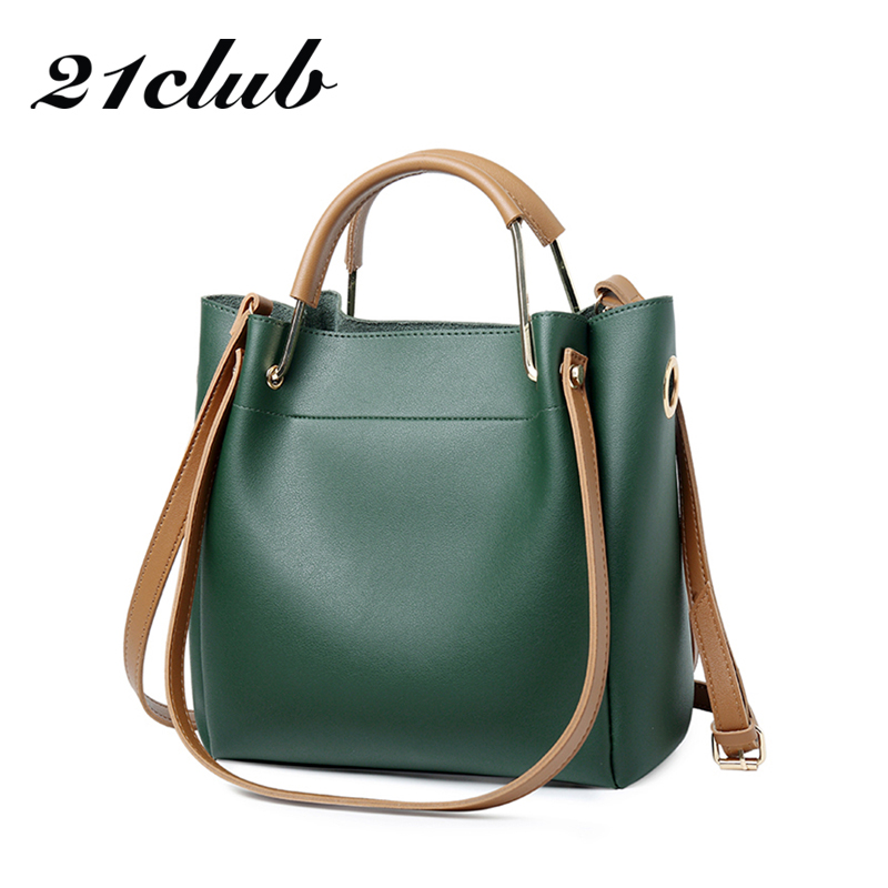 21 club marque moyen dames totes casual travail du shopping haute qualité de mode sac à main hotsale de sac d'épaule bandoulière femmes sac à main