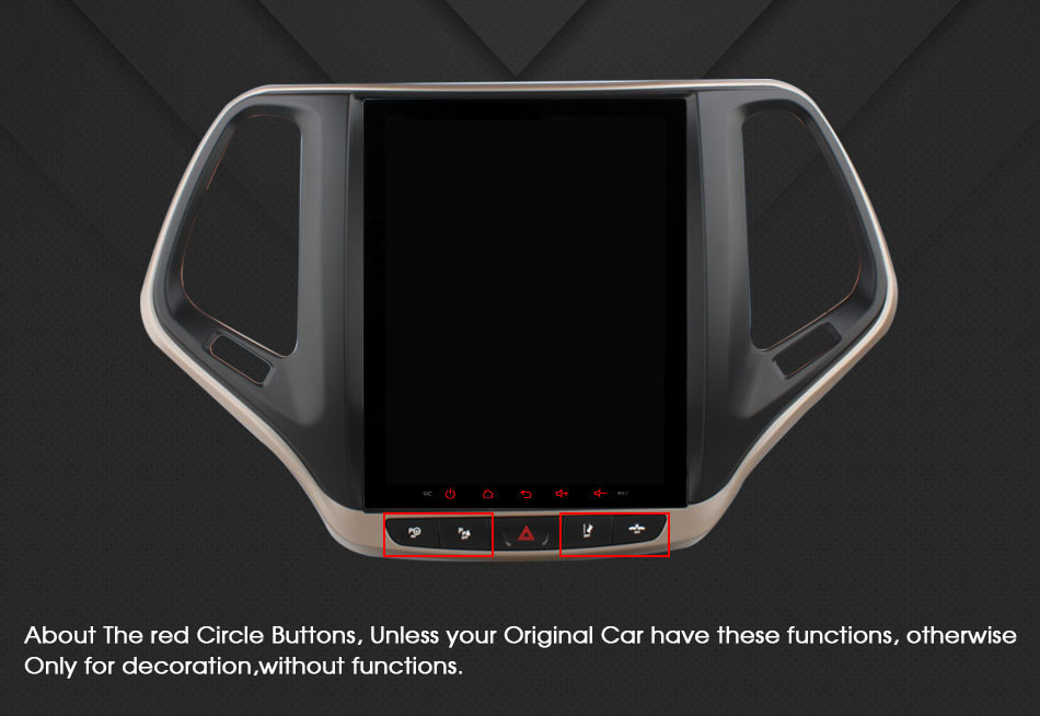 HD 9 7 inch Android 6 0 Octa Core 2GB RAM 32GB ROM Car DVD Player for Jeep Cherokee 2014 2017 GPS Radio Stereo 4G WIFI in Car CD Player from Automobiles Motorcycles