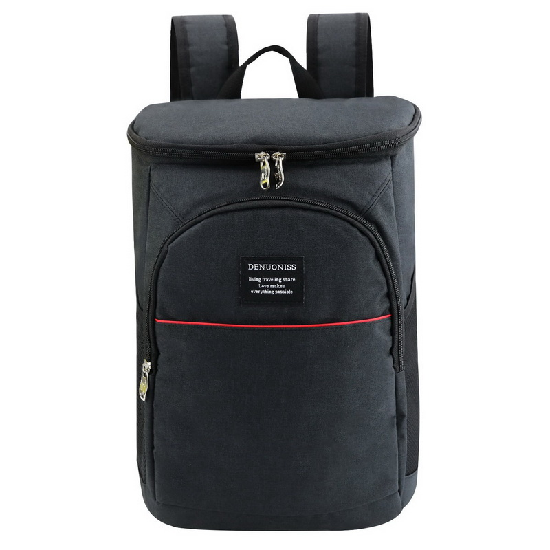 19l Insulated Cooling Backpack Picnic Camping Hiking Beach Park Ice Cooler Bag Lunch Rucksack Unisex Oxford Fabric Backpacks Sports & Entertainment