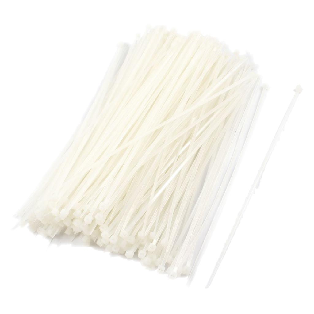 Promotion! Nylon Locking Fastener Pack Cable Tie 2x200mm 500 Pcs yds 200m 4 x 200mm self locking nylon cable tie wraps white 500 pcs