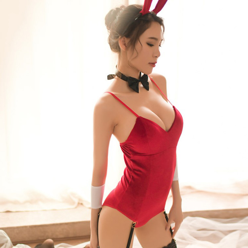 Sexy Lingerie Christmas Role Play Bunny Girl Rabbit Uniform Limitation Sexy Cosplay Erotic Lingerie Sexy Halloween Costumes