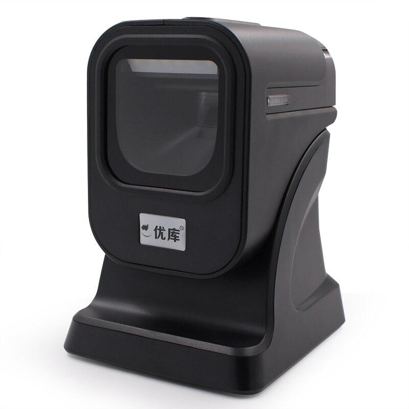 1D/2D/QR QR Melhor apresentação scanner de Código De Barras omnidirecional Scanner PDF417 1D GS1 Datamatrix pharma álcool cigarro códigos