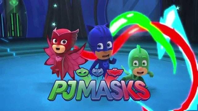 Pj Masks Costume Kids Catboy Owlette Gekko Cape With Masks Wristband Cartoon Superhero Cloak Cape Carnaval Costumes For Kids (9)