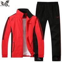 XIYOUNIAO New Brand Men's Sportswear Set Men Active Tracksuits hoodies&Sweatshirts sporting suit Men Jacket And Pants clothing