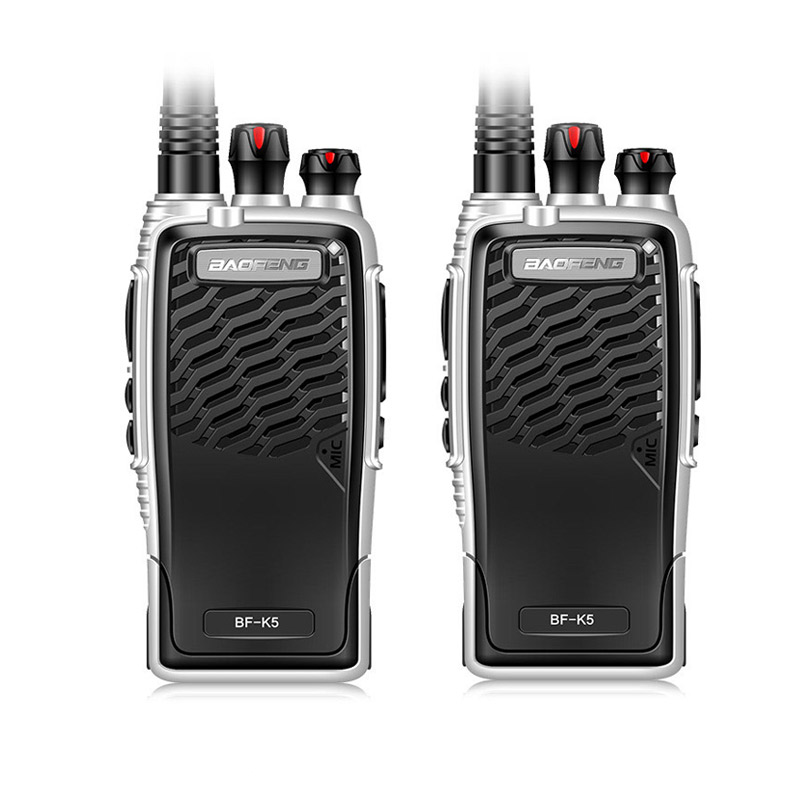 New Baofeng BF-K5 Professional Walkie Talkie 5W Power Portable Ham Two Way Radio UHF 400 ...