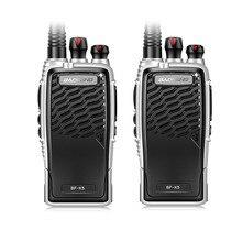 Новый baofeng bf-k5 профессиональный walkie talkie 5 Вт портативный ветчина Двухстороннее Радио UHF 400-470 МГц Ртт Для Охоты 2 ШТ.
