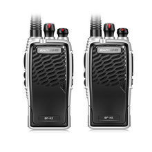 New Baofeng BF-K5 Professional Walkie Talkie 5W Power Portable Ham Two Way Radio UHF 400-470MHz Push To Talk For Hunting 2PCS(China)