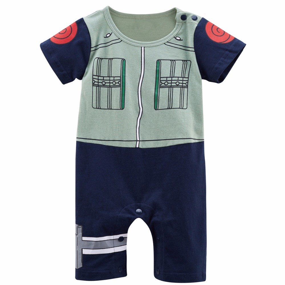 Newborn Baby Boy Hatake Kakashi Cute Costume Romper Funny Infant ...