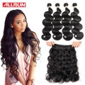 Malaysian Body Wave 4 Bundles Deals Malaysian Virgin Hair Bundles Malaysian Hair Extension 7A Unprocessed Human Hair Extensions
