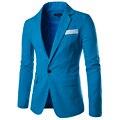 Invierno 2016 Mens británico Suit Blazer Slim Fit Menswear hombre traje Homme vestidos formales Terno Masculino hombres de invierno abrigos 9083
